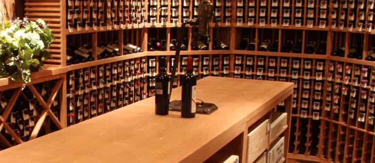 Allavino Residential Wine Racks