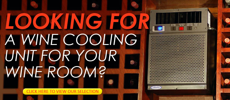 Looking for a Wine Cooling Unit for your Wine Room - Click Here