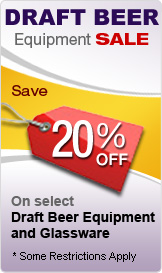 Draft Beer Equipment 20%