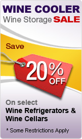Wine Refrigerators 20%